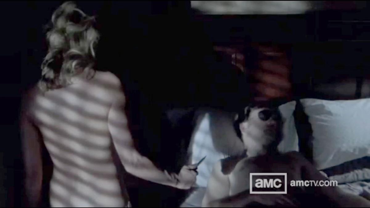 andrea walking dead nude scene