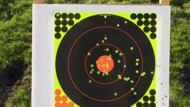 outdoor test target