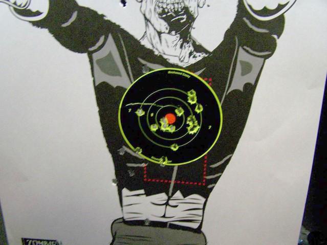 range test target