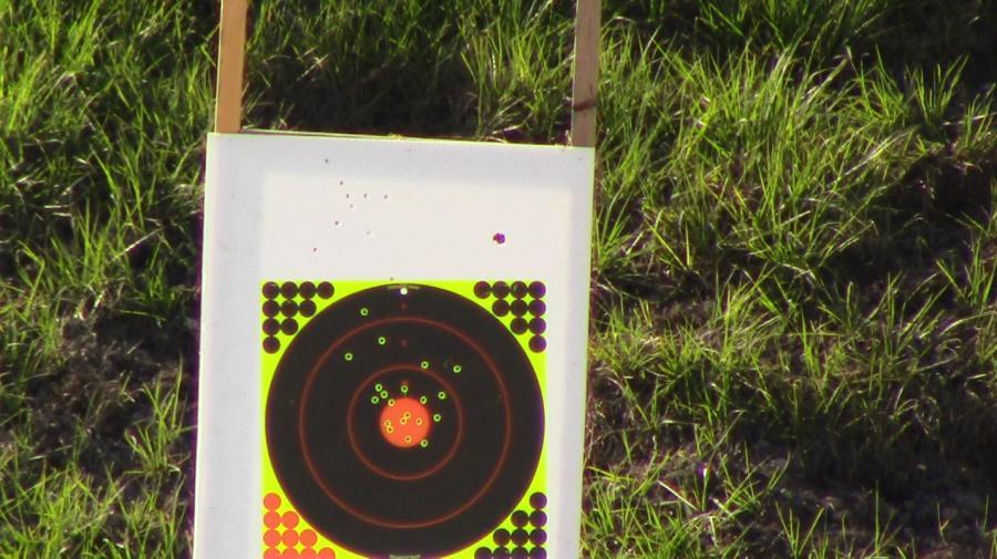 target zeroed