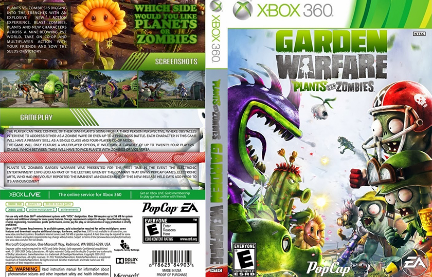 plants vs zombies garden warfare blasts onto pc june 27 zombie apocalypse monthly - Plants Vs Zombies Garden Warfare Xbox 360