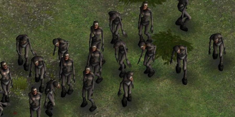 zombie mob!