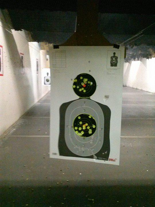 saiga 12 target